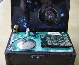 Dr. Who Inspired Desk Clock