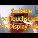 Program Arduino UNO With Visuino to Draw on ILI9341 TFT Touchscreen Display Shield With Pen