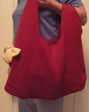 Recycle a Wool Sweater Into a Pet Carrier