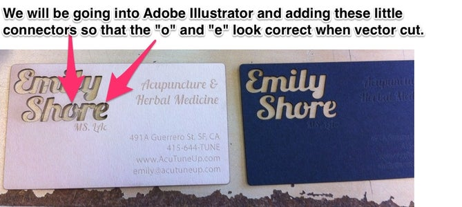 Edit Your Type in Illustrator So It Can Be Vector Cut
