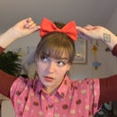 Kiki's Delivery Service Hair Bow - Big Anime Hair Bow