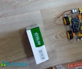 Autonomous Parallel Parking Car  Making Using Arduino