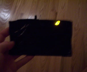 Make an L.E.D. Lighted Wallet (More of Pouch)
