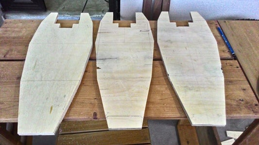 Fabrication of Plywood Base
