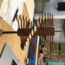 Laser Cut Helicone