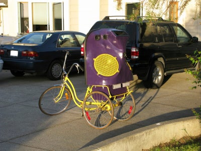 Make a GhettoBlaster Tricycle