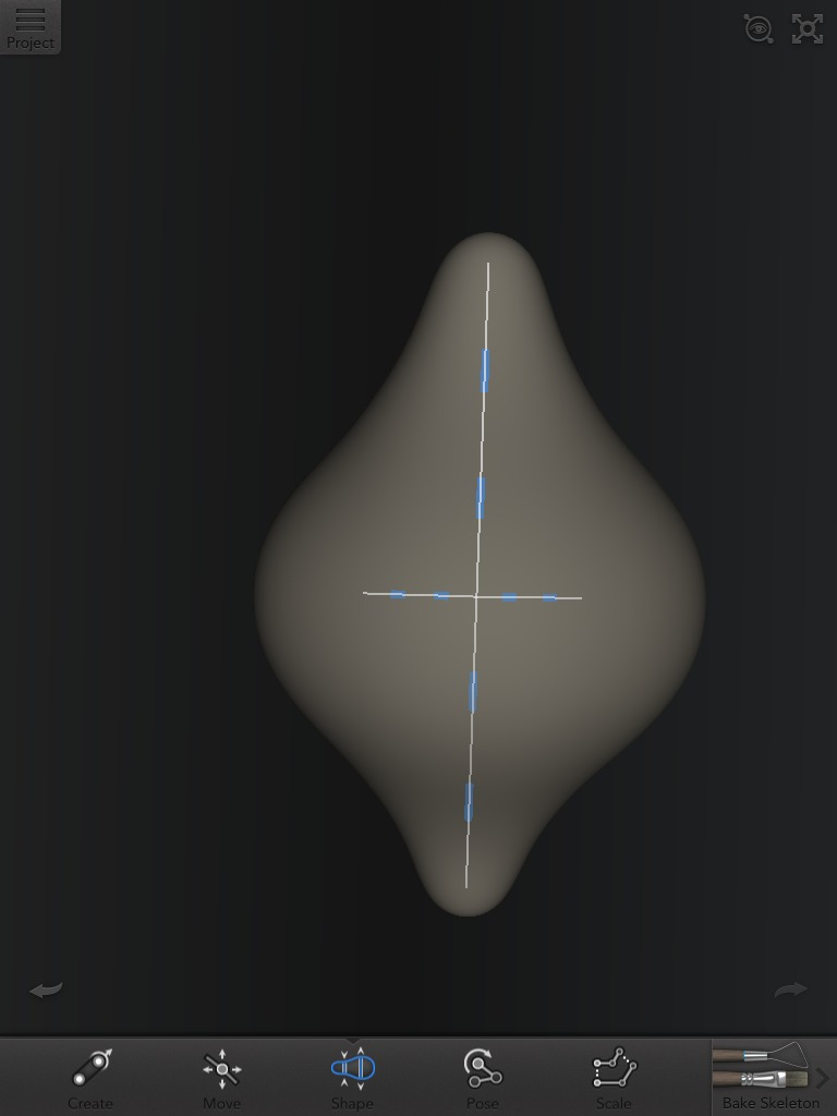 Picture of The Initial 'Blob'.