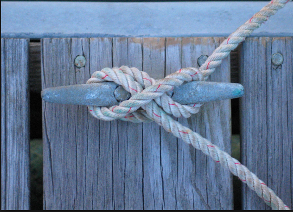Picture of Make a Tie Off for the Rope