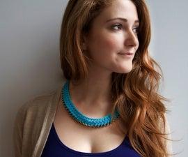 Crochet Chain Necklace