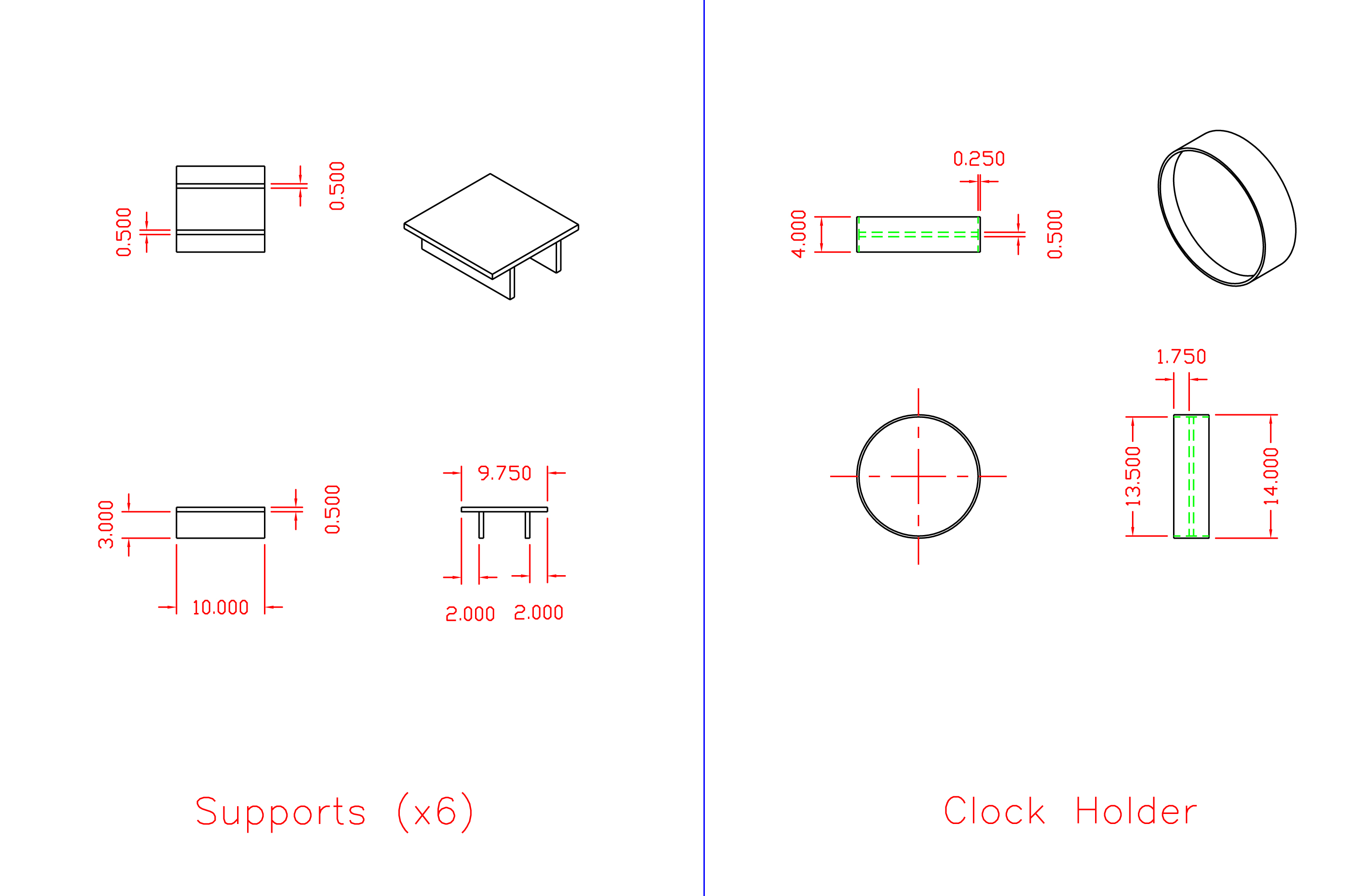 Picture of Assembly Supports