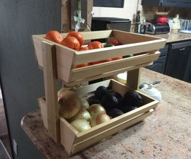 Easy Fruit/Veggie Holder