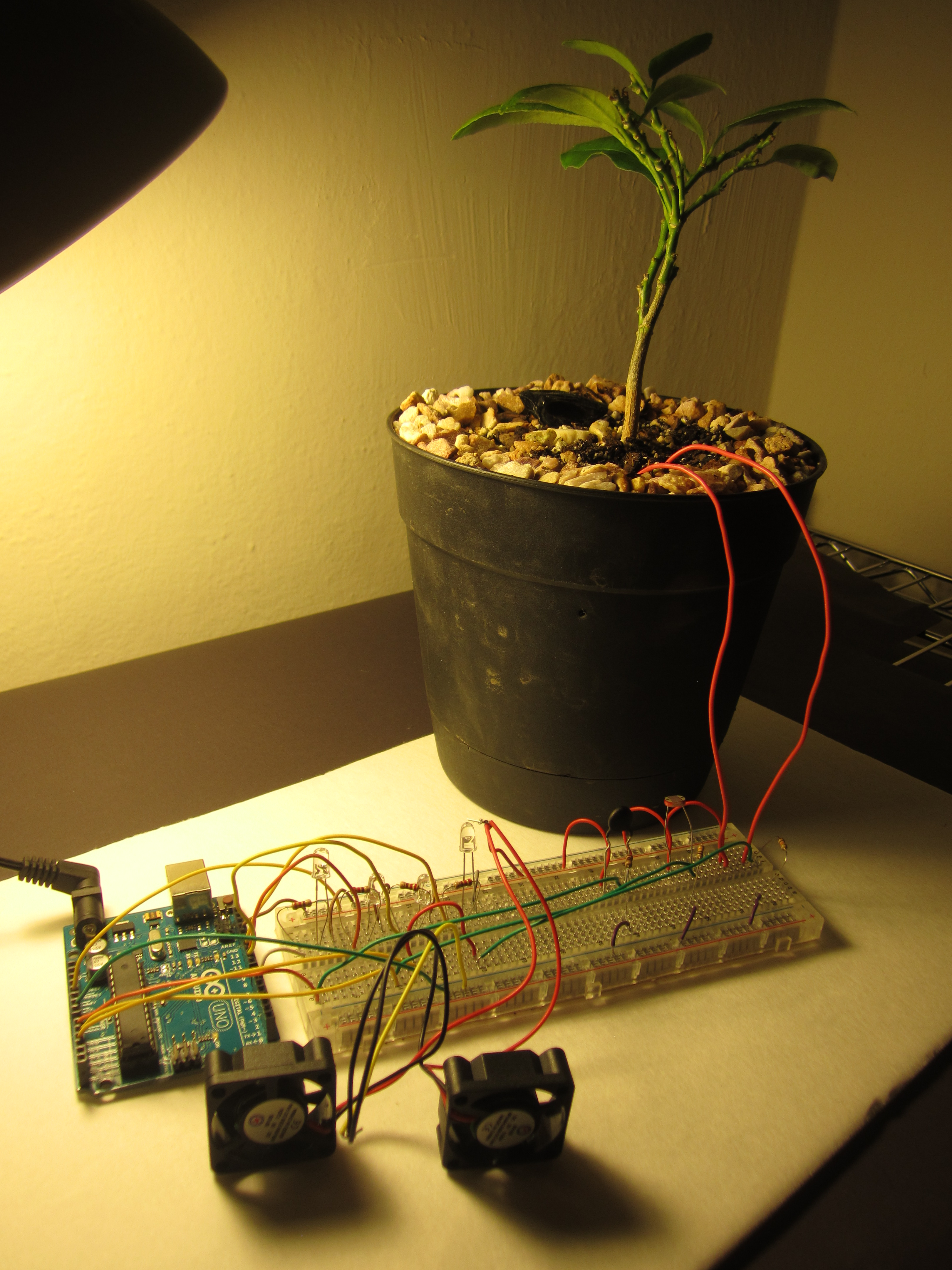 Picture of The Plant Arm - Garduino Upgrade