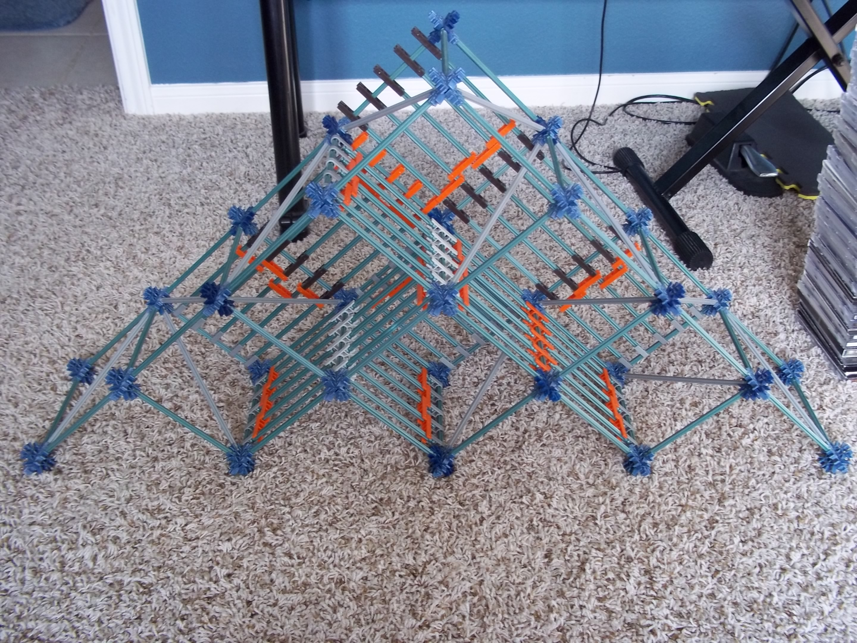 Picture of Knex CD Shelf / Rack
