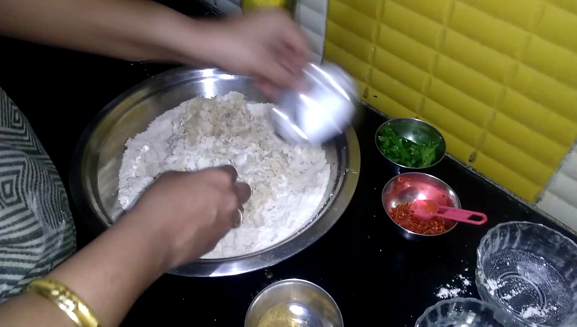 Picture of Kneading and Mixing