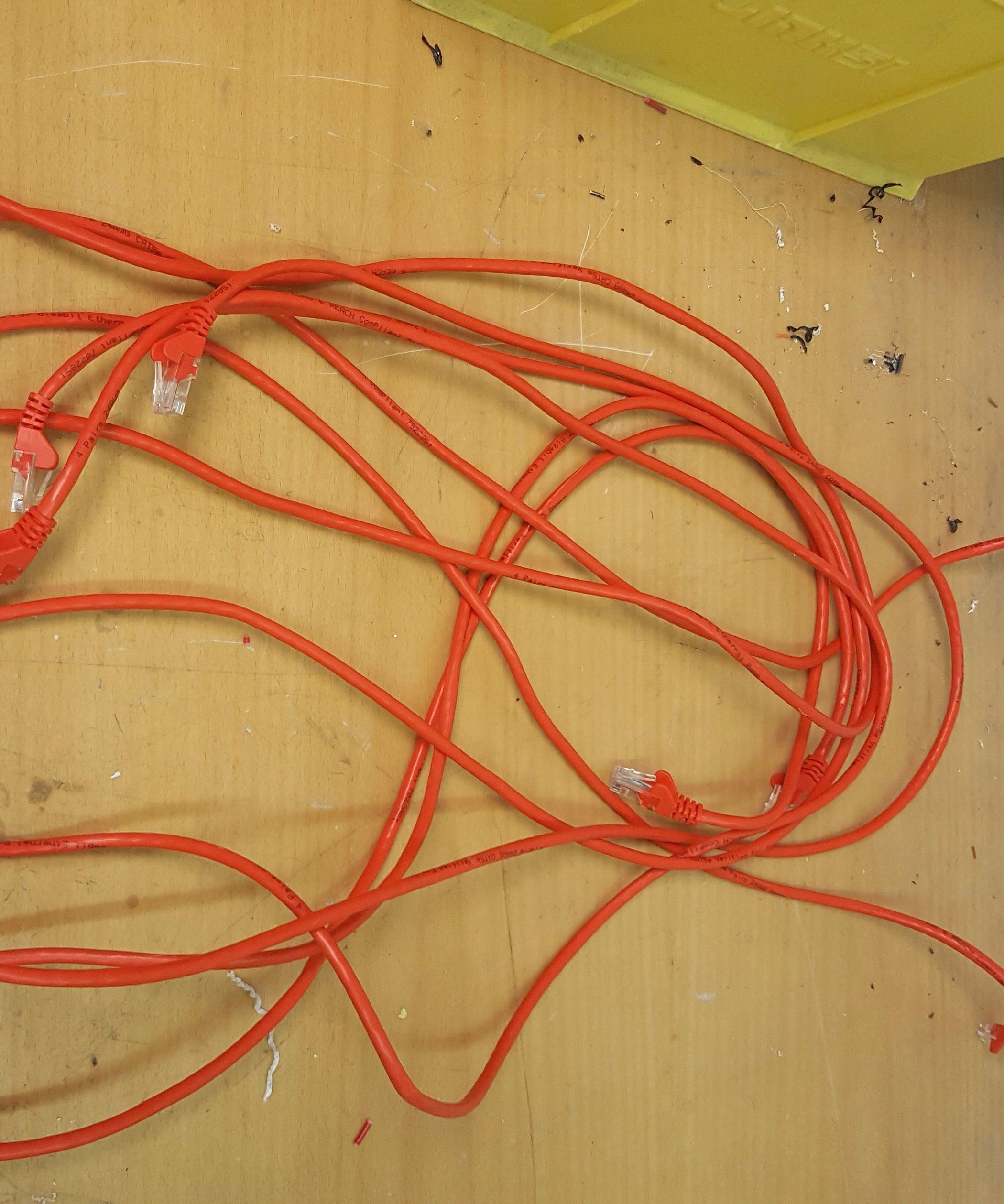 Zip-Tie Cable Management: 3 Steps