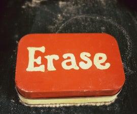 Mini Chalkboard Eraser (With Hidden Chalk Storage)