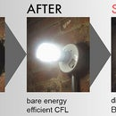 Beautify your CFLs with Bright Idea Shades (steal this idea!)