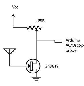 Arduino Electrometer/Capacitive Object Sensor : 6 Steps