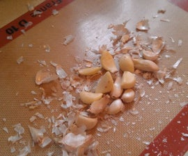 Peel Garlic Quickly With A Silpat