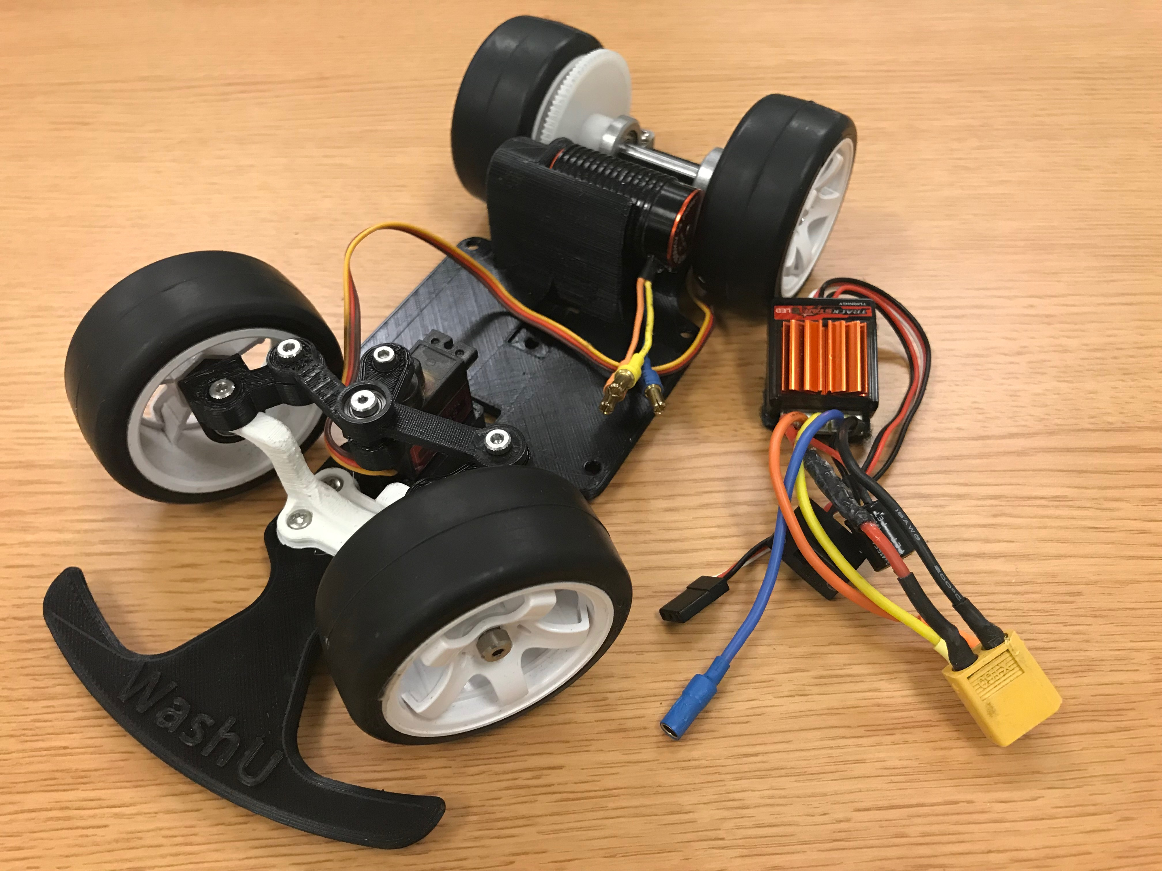 Picture of Connect the ESC to the Brushless Motor