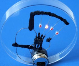 Make Conductive Glue and Glue a Circuit