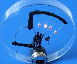 Make Conductive Glue and Glue a Circuit