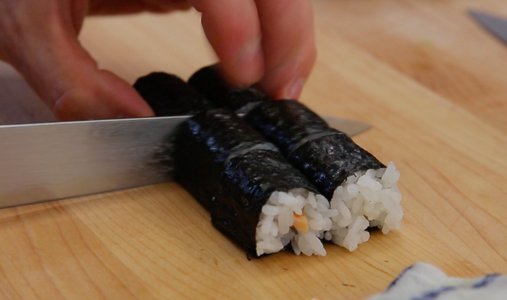 Cut the Sushi Roll