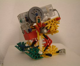 Waddle Bot - K'nex Biped