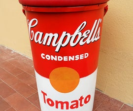 Campbell's Soup Stool