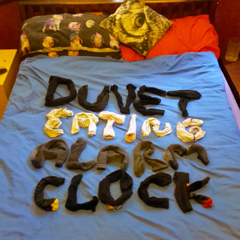 Picture of Duvet Eating Alarm Clock