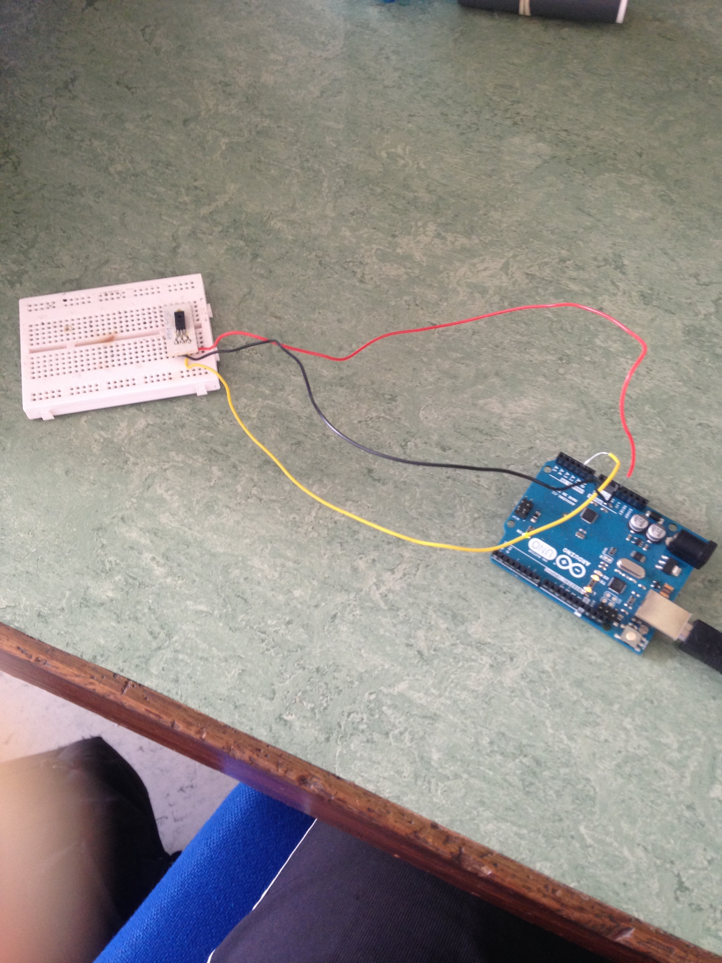 Picture of Humidity Sensor Arduino