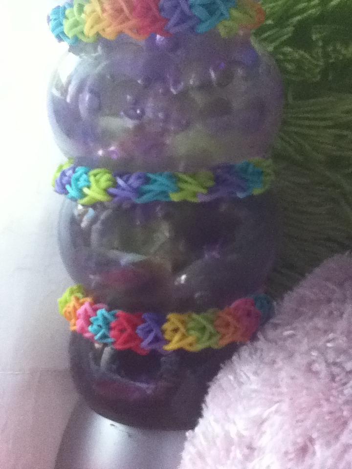 Picture of Double X Rainbow Loom Bracelet