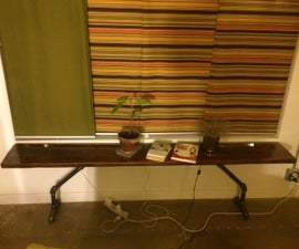Pipe Window Table