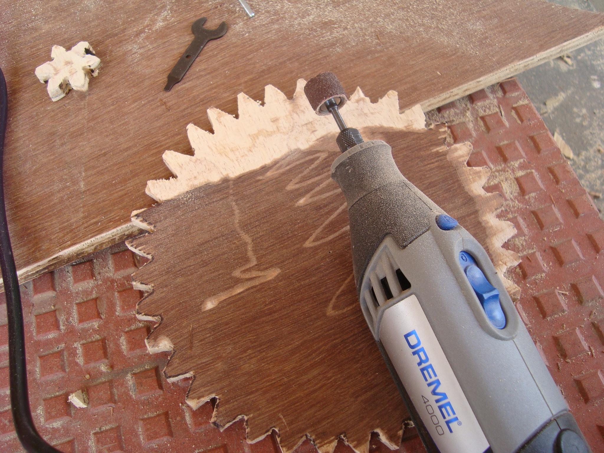 Picture of Finishing the Gears & Backbone Board