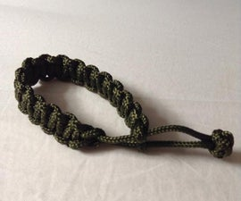 Paracord Bracelet Without Buckles!