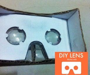 DIY Lens for Google Cardboard VR