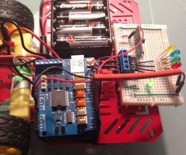 Robot radio RF with joystick