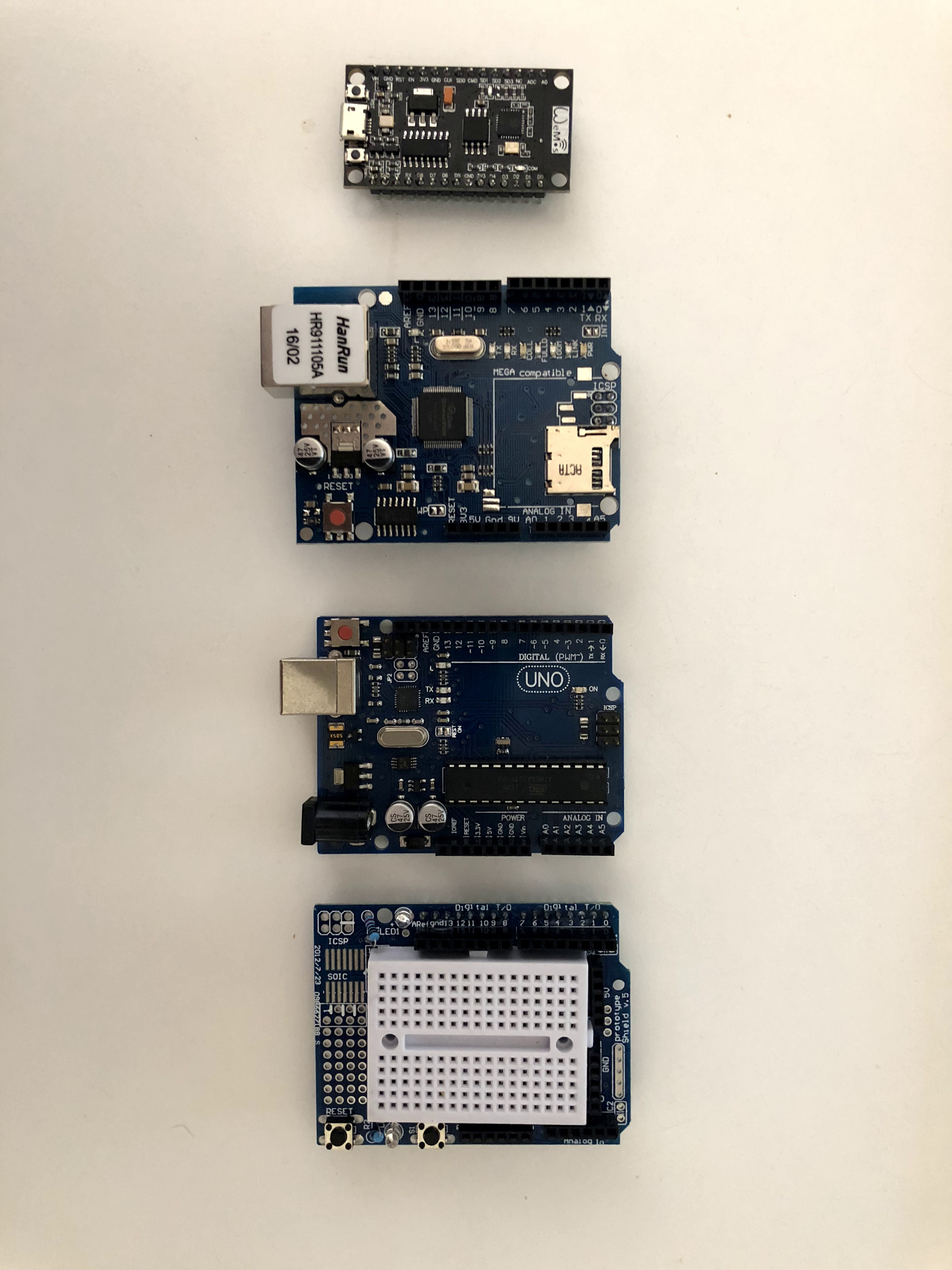 Picture of List of Parts