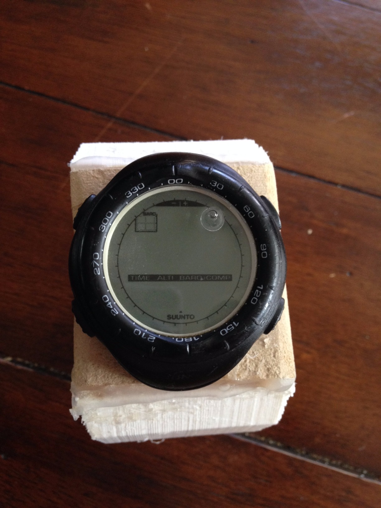 Picture of Attach Watch Band to USB Flashdrve and Watch Face