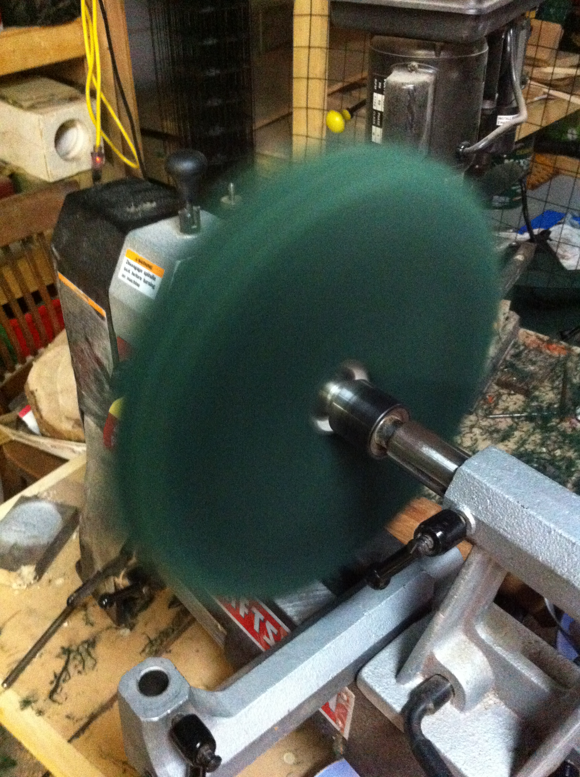 Picture of Making Buffing Wheels for Wood Turning