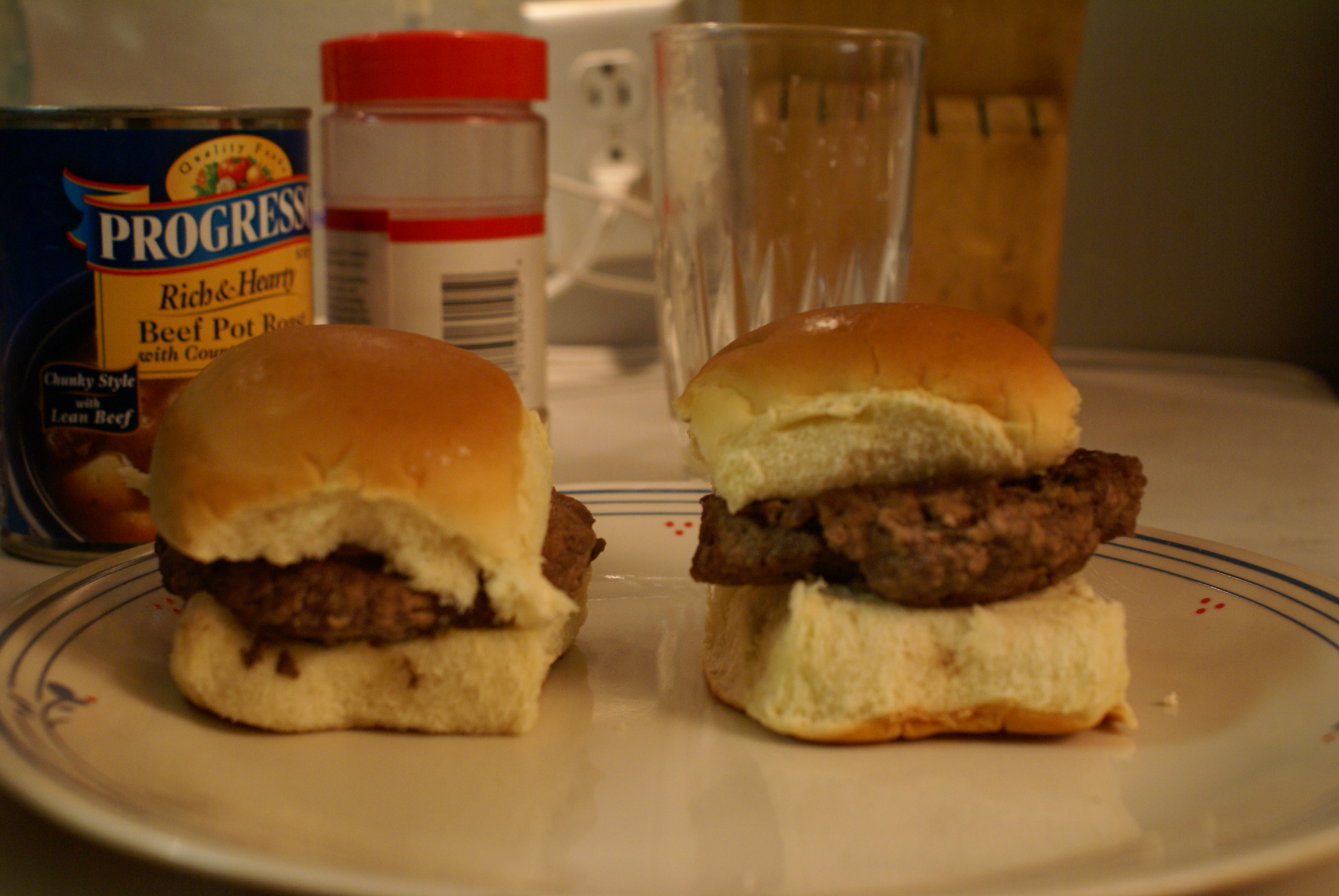 Picture of White Castle Hamburgers AT HOME!