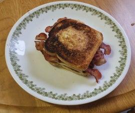 Bird's Nest Breakfast Sandwich (New Spin on an Old Favorite)