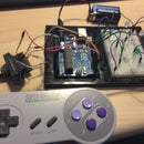 Make an SNES controller based Arduino game