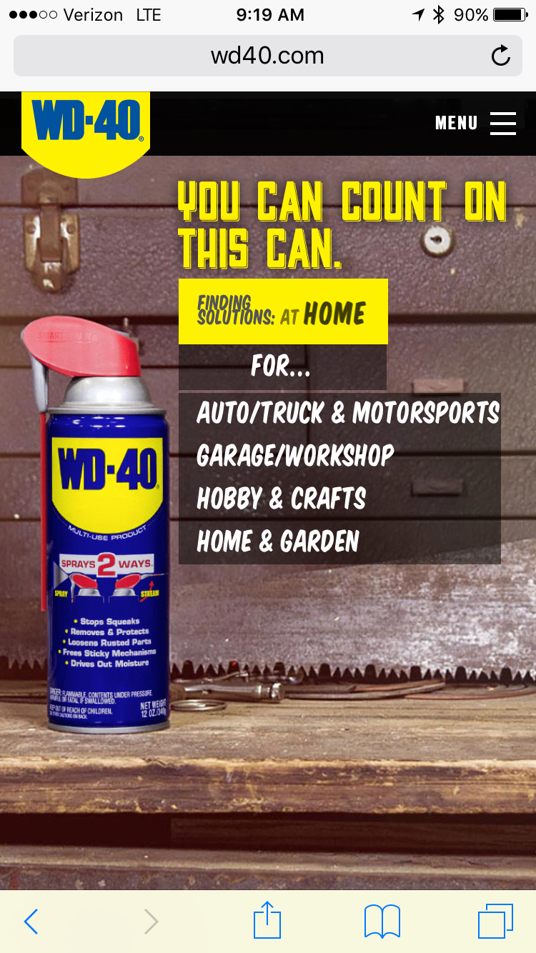 Picture of I Found Another Use for WD40