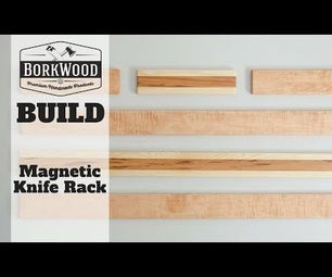 Magnetic Knife Rack | a DIY Tutorial
