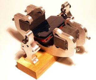 Solar Commutated (Mendocino) Motor