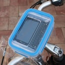 Waterproof housing for you mobile during bicycle tours