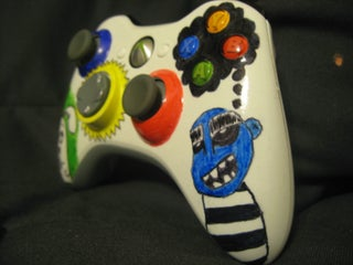 Color Up Your Xbox 360 Controller 6 Steps Instructables