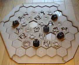 3D Settlers of Catan Board