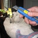 How remove ferrite core